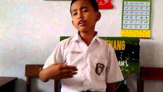 Repeat youtube video Pidato anak SD N Sanggang 01 bikin nangis...,
