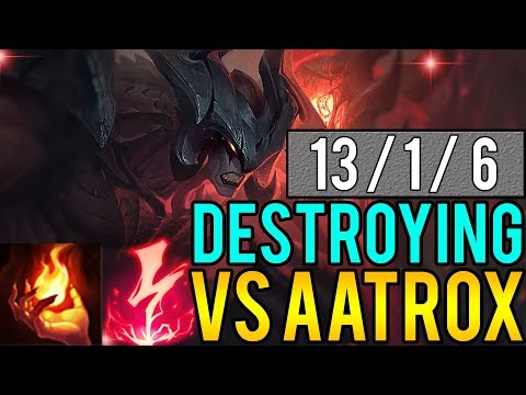 xBlotter | How To Destroy Aatrox top! | Teemo vs Aatrox Full Gameplay