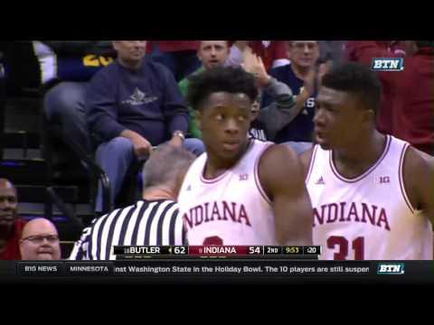 Butler at Indiana - Men's Basketball Highlights