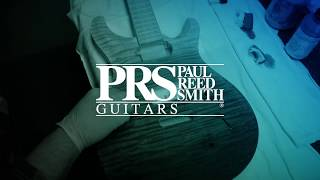 """The """"Blue Fade"""" Stain Process   PRS Guitars"""