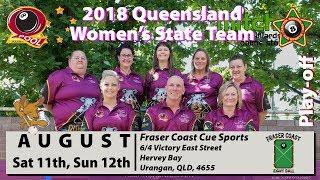 2018 QEBF State Women's Team Play-off - Saturday 9:30AM