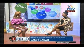 #theTrend: Sarah Hassan makes a comeback to the screen