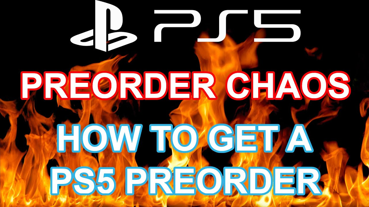 PS5 pre-orders open early, quickly turn into chaos