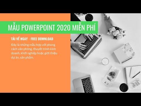 Mẫu powerpoint 2020 tải về miễn phí - theme free download - Troy