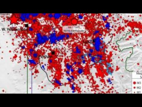 Yellowstone Volcano 128 earthquakes Something Brewing