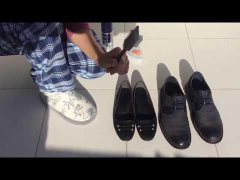 Как правильно чистить обувь из замши, велюра