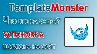 TemplateMonster - знакомство с сервисом, покупка и установка шаблона на сайт от Монстров