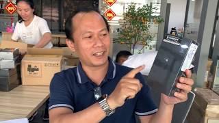 Khui hộp nhanh Samsung Galaxy S10+ 512GB Black Ceramic vừa về hàng