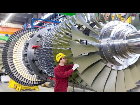Amazing Technology And Modern Gas Turbine Maintenance Factory