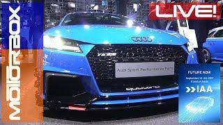 Audi TT RS Performance Parts in video dal Salone di Francoforte 2017