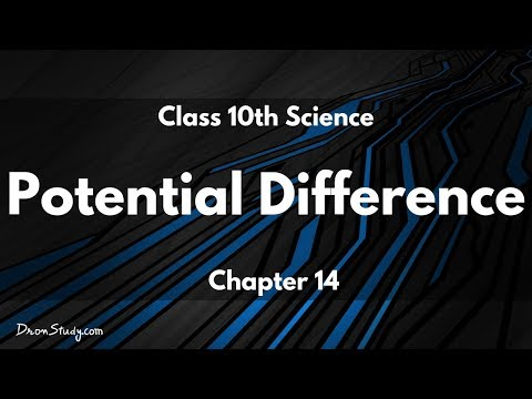 Electricity - Potential Difference : Class 10 X Science (Physics)