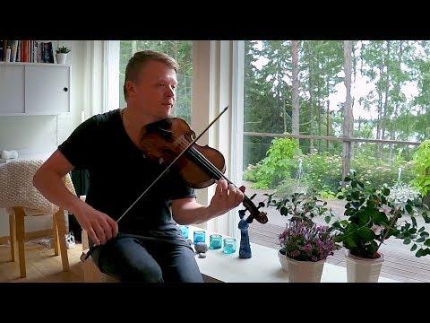 Finnish Folk Music - Pekka Kuusisto Home Video - July 2017 (Philharmonia Orchestra)