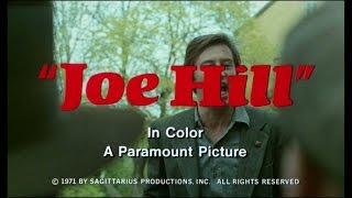 Joe Hill - Trailer - Bo Widerberg