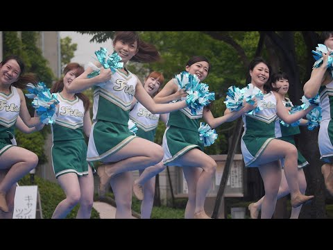 Cheerleading チア 関東学院大学チアダンス部Fits Queen Don't Stop Me Now