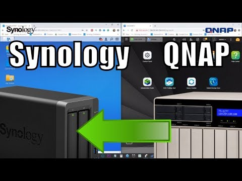 Backup a Synology NAS to a QNAP NAS with RSync