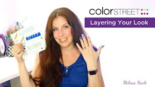 How to apply Color Street nails - We'll amp up your solids look w/ nail polish designs and glitters.