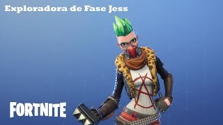 Phase Explorer Jess / Mythical Hero Fortnite: Saving the World #259