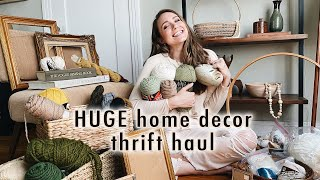 HUGE decor thrift haul + thrifting from Texas to California | XO, MaCenna Vlogs