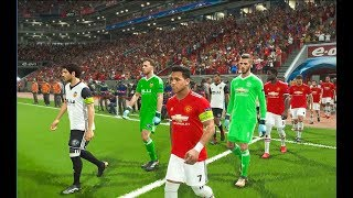 manchester united vs valencia champions league 2018 || Part 1