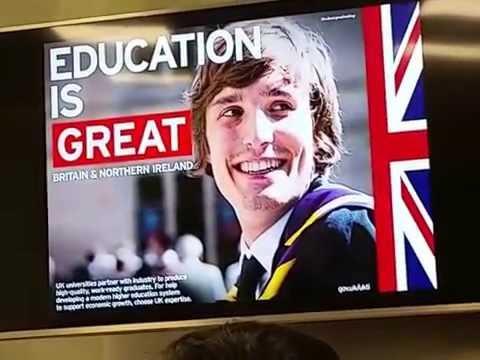 Study In Europe. UK Exposition/Estudiar en Europa. Exposición Reino Unido 2016