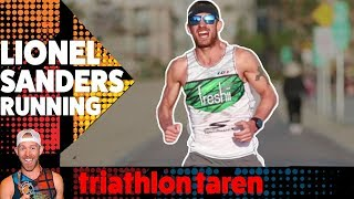 Pro Triathlete Ironman LIONEL SANDERS Running Form Analyzed in SLOW MOTION