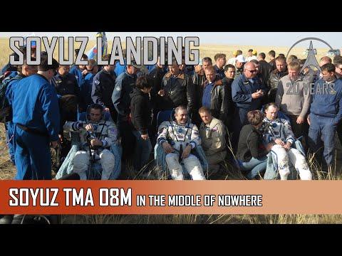 Soyuz TMA-08M Return In Kazhakstan - In The Middle Of Nowhere