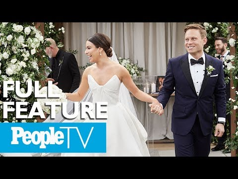 Exclusive Look Into Lea Michele&39;s Intimate Wedding To Zandy Reich   PeopleTV