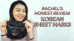 Korean Sheet Mask Review: YADAH, Innisfree, MEDIHEAL, CNP Laboratory   GlamPick