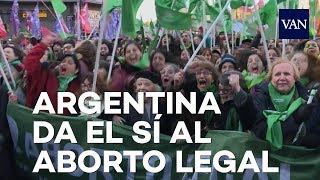 Argentina da el primer paso para despenalizar el aborto