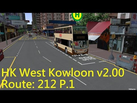 OMSI 2 HK West Kowloon v2.00 Route 212 P.1