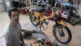 jake s honda trail 90 project part 1 yard sale rescue