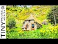 Thatched cottage surrounded - Beautiful Tiny House at an Amazing Spot | Tiny House Interiors