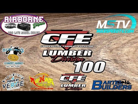 Airborne Graphics Pro Late Model Series | CFE 100 | Limaland | Dirt Pro Late Model