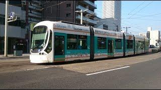 広島電鉄5100形5103号『広電バス 倉敷線ラッピング』的場町〜稲荷町