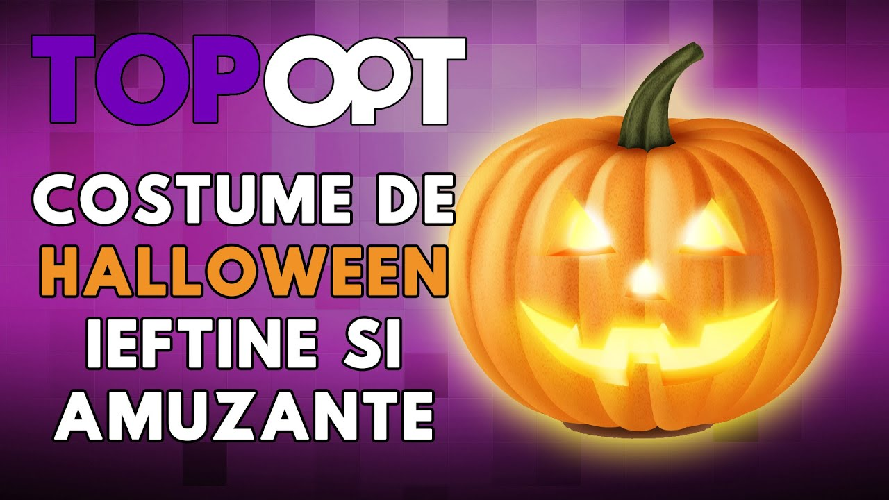 Costume de Halloween ieftine si amuzante