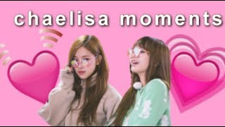 chaelisa moments - blackpink