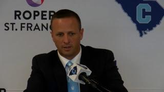 The Citadel Football Press Conference 11/13/18