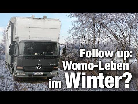 Kann man im Winter im Wohnmobil leben? Follow up – Anfänger S02E04