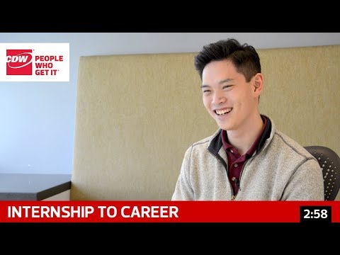 CDW - From Internship to Career