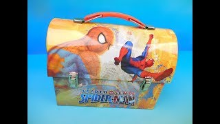 WHAT'S IN THE LUNCHBOX? - MYSTERY FAST FOOD TOY REVIEW Episode 1