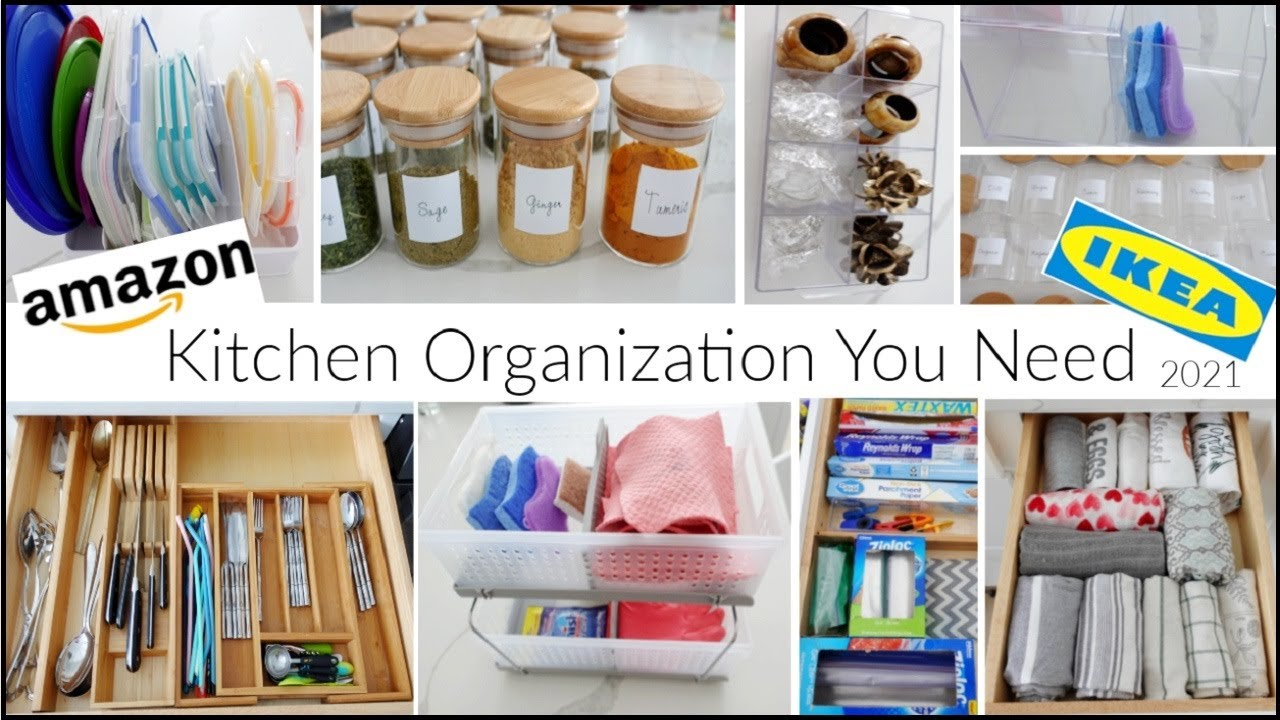 10 Easy Kitchen Organization Ideas & Hacks 2021