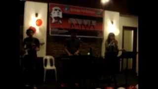 """ZULFERNZ BAND ( LUZ & ARMAN FERNANDEZ)- """"I LOVE THE NIGHTLIFE""""/ """"ELECTRIC DREAMS"""" 12/11/2012"""