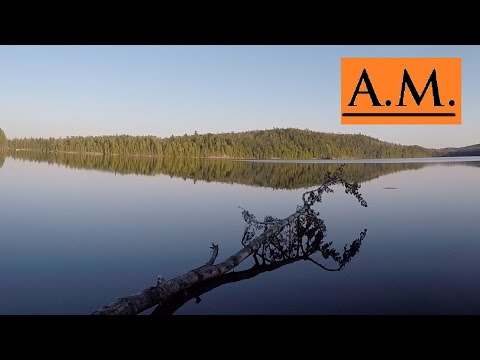 Algonquin Provincial Park - 3 Day Paddle From Canoe Lake To Tom Thomson! - Spring