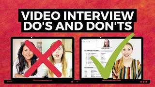 Video Interview TIPS - H๐w to Stand Out in Video Interview for Jobs!