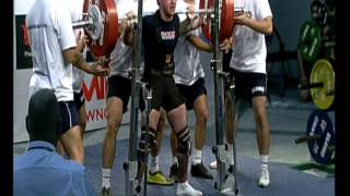 Andrew Thomas 2012 Sub-Junior Powerlifting World Champs