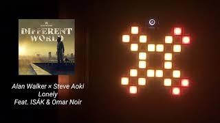 Alan Walker x Steve Aoki - Lonely (feat. ISÁK & Omar Noir) | Launchpad MK2 Cover