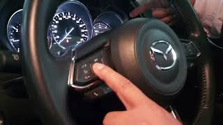 ฟังชั่นการใช้งานหน้าปัทม์เรือนไมล์ Mazda CX-5