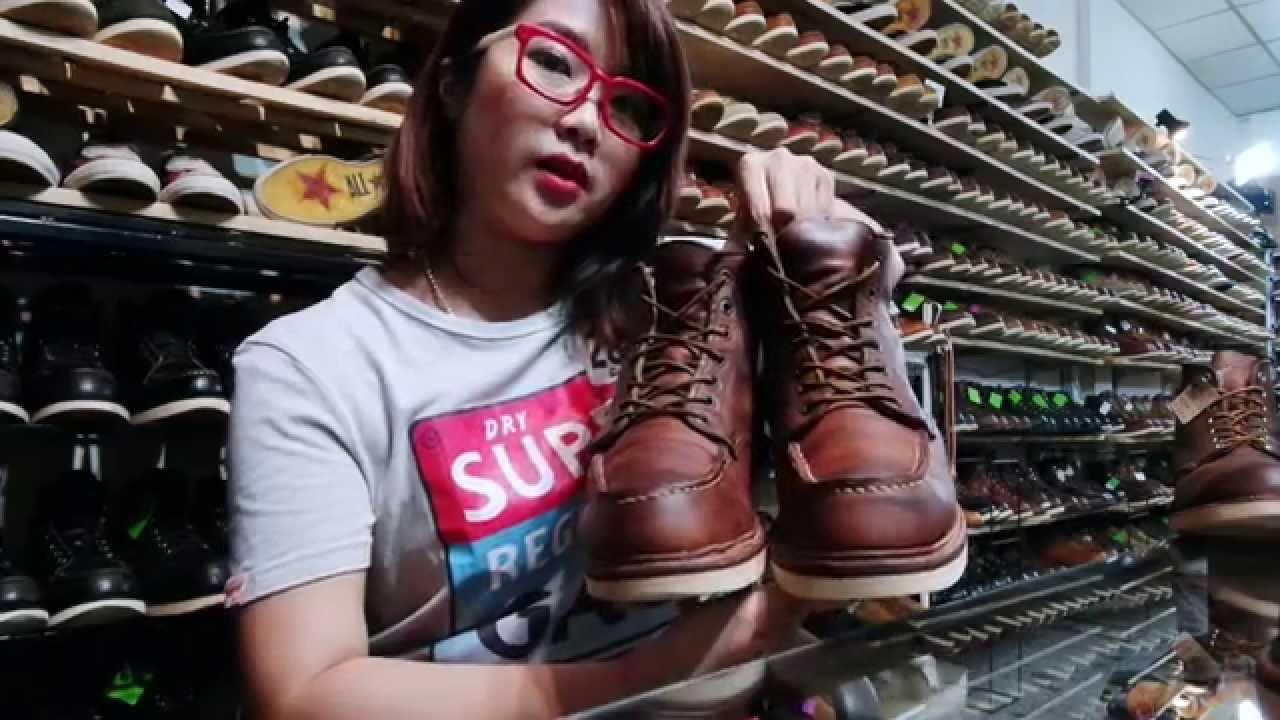 Red Wing 1907 Review By Toom Oldshoes รีวิวรองเท้าเรดวิง