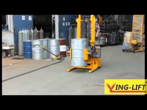 Full Electric Drum Transport Equipment /  Drum Lifter And Tilter