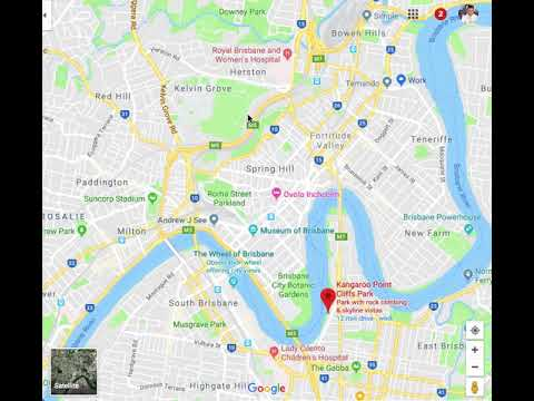 BNE Map For AirBNB